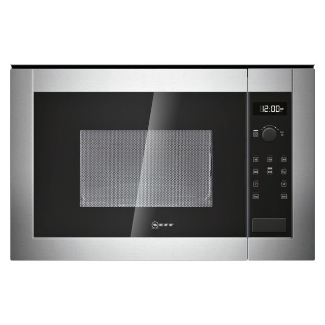 NEFF micro-ondes encastrable 20l 800w inox - h11we60n0