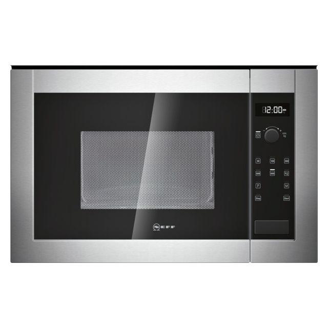 NEFF micro-ondes encastrable 20l 800w inox - h11we60n0
