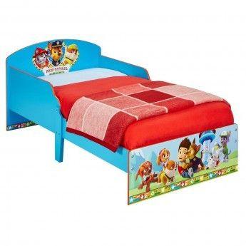 Pat Patrouille Lit Enfant avec rangement P'tit Bed Pat'Patrouille 142 x 59 x 77 cm