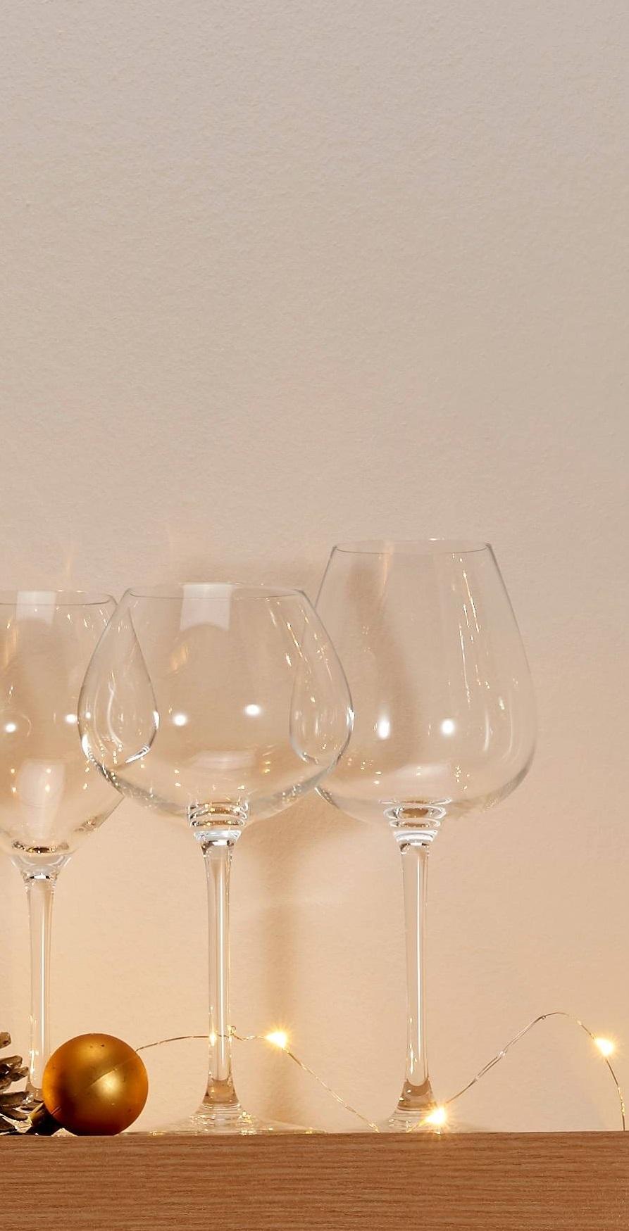 cristal d 39 arques coffret de 6 verres pied 35 cl wine. Black Bedroom Furniture Sets. Home Design Ideas