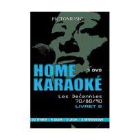 Arcades Video - Coffret home karaoke, les decennies 70/80/90, vol. 2