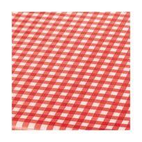 Bonita - Nappe ronde Match - D: 160 cm - vichy rouge