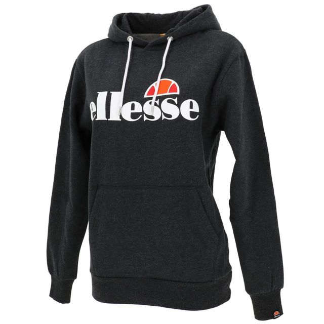 ELLESSE Sweat capuche hooded Torices sweat w anthchine Gris 50288