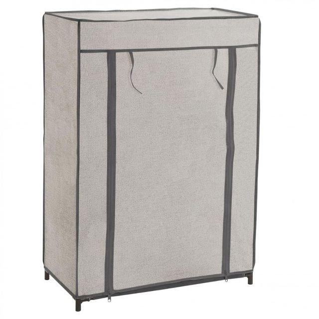 Paris prix armoire <strong>à</strong> <strong>chaussures</strong> 90cm gris clair