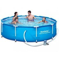 piscine tubulaire metal frame intex d366 x h76 cm