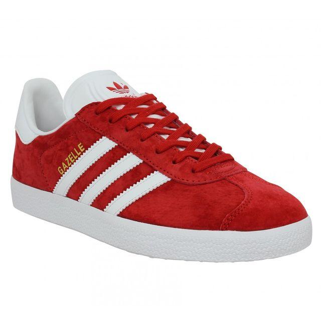 Adidas - Gazelle-42 2/3-Rouge