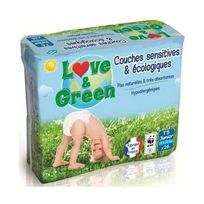 Love And Green - Love & Green - Couches Ecologiques Hypoallergéniques 0% T5 x26
