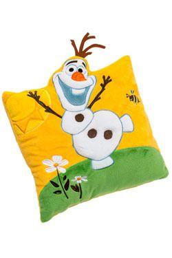 Joy Toy Peluche - La Reine des neiges coussin peluche Olaf 33 x 33 cm La Reine des neiges coussin peluche Olaf 33 x 33 cm - Peluche
