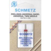 SCHMETZ - Aiguilles doubles pour machines à coudre U