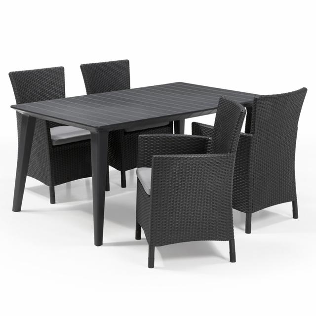 table jardin allibert. Black Bedroom Furniture Sets. Home Design Ideas