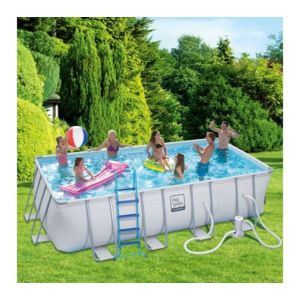 Carrefour piscine tubulaire maiao l 5 49 x l 2 74 x for Piscine tubulaire carrefour