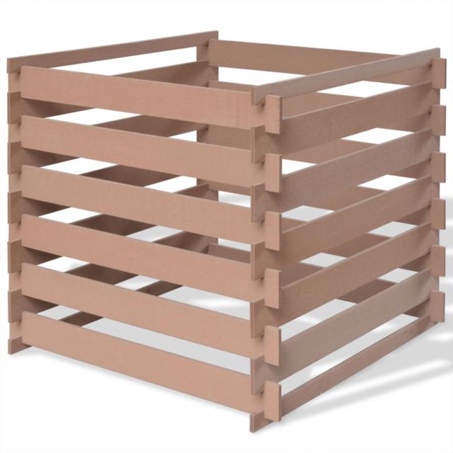 composteur monobloc guillouard bois marron 200 l vendu par leroy merlin 451203. Black Bedroom Furniture Sets. Home Design Ideas