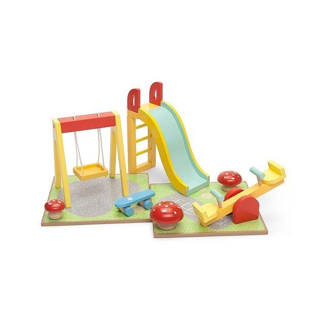 le toy van aire de jeux d 39 ext rieur en bois accessoire. Black Bedroom Furniture Sets. Home Design Ideas