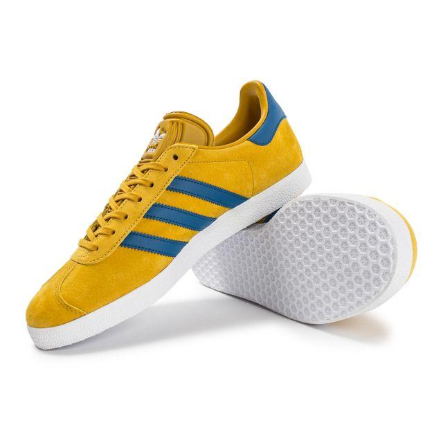 adidas gazelle homme jaune et bleu