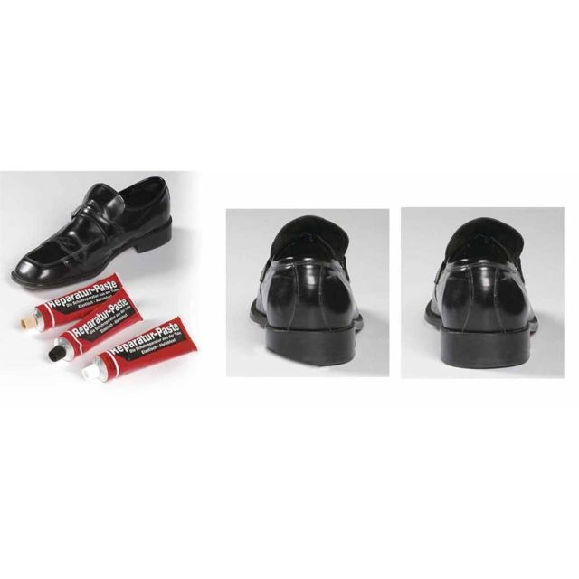 Astuceo pâte de réparation pour <strong>chaussures</strong> noire