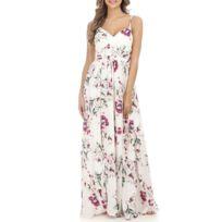 b61e8b0f20 Robe longue fendue - catalogue 2019 - [RueDuCommerce - Carrefour]