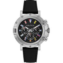 Nautica - Montre homme - Nst 800 Chrono Flags Nad17527G