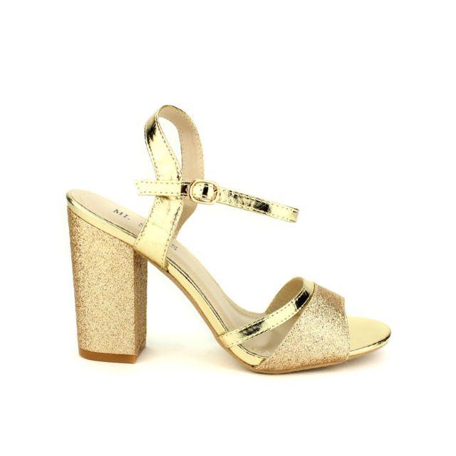 pailletées Dorées Sandales cher Cendriyon Ml Achat Shoes pas SUzpMqV