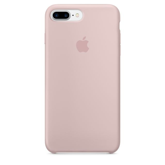 f42f7bcef3be APPLE - iPhone 7 Silicone Case Pink Sand - pas cher Achat   Vente ...