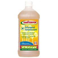 Saniterpen - Détergent Surpuissant - Nettoyant manuel ou haute pression - Pour l'habitat - 1 L