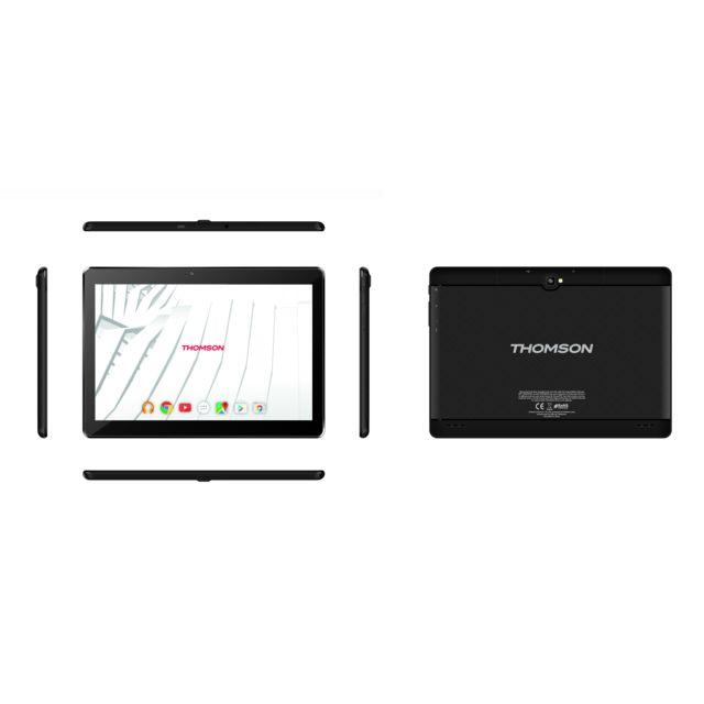 Thomson Tablette tactile - 16 Go - Teo104G-MT2BK16 - Noir pas cher ...