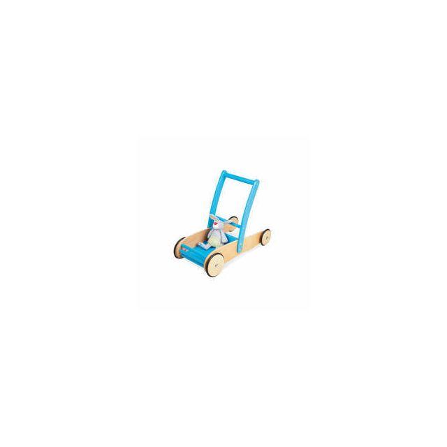 Pinolino Chariot de marche turquoise