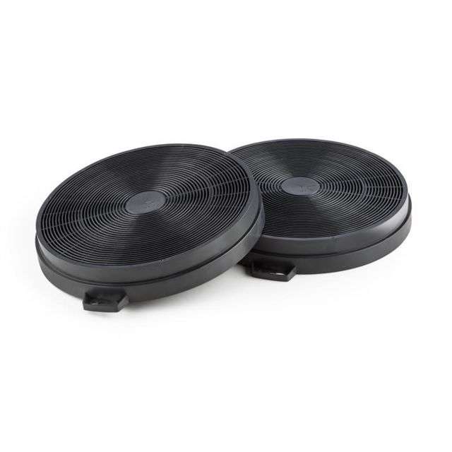 klarstein set de 2 filtres charbon actif pour hotte aspirante pas cher achat vente. Black Bedroom Furniture Sets. Home Design Ideas
