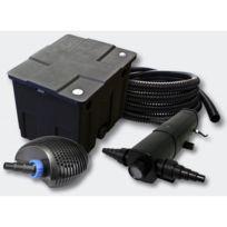 Aqua occaz kit filtration complet 36w pour bassins de for Kit de filtration pour bassin pas cher