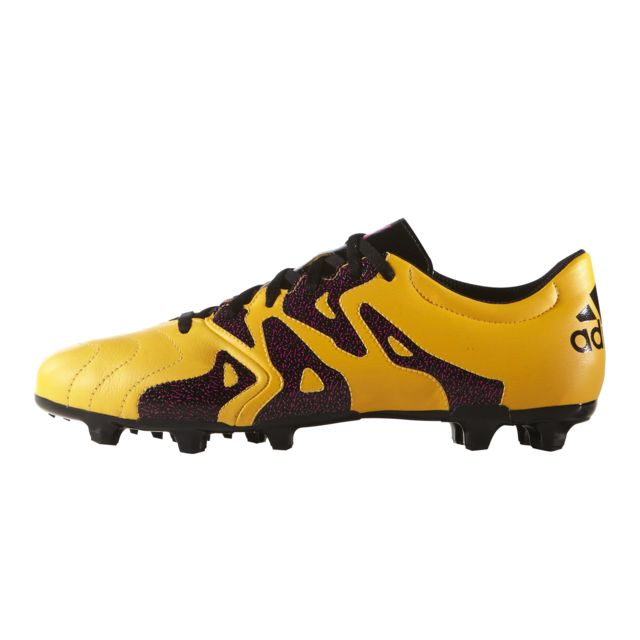 Adidas performance Adidas X15.3 FgAG Cuir Orange pas