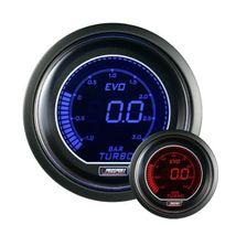 Prosport - Manometre de Pression de Turbo Digital - Bleu / Rouge