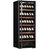 Transtherm - Cave à vin de service - 1 temp 124 bouteilles - Noir Aci-trt611NP - Pose libre