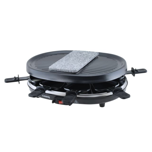 HKOENIG Raclette/Pierre à griller/Grill 8 pers RP80