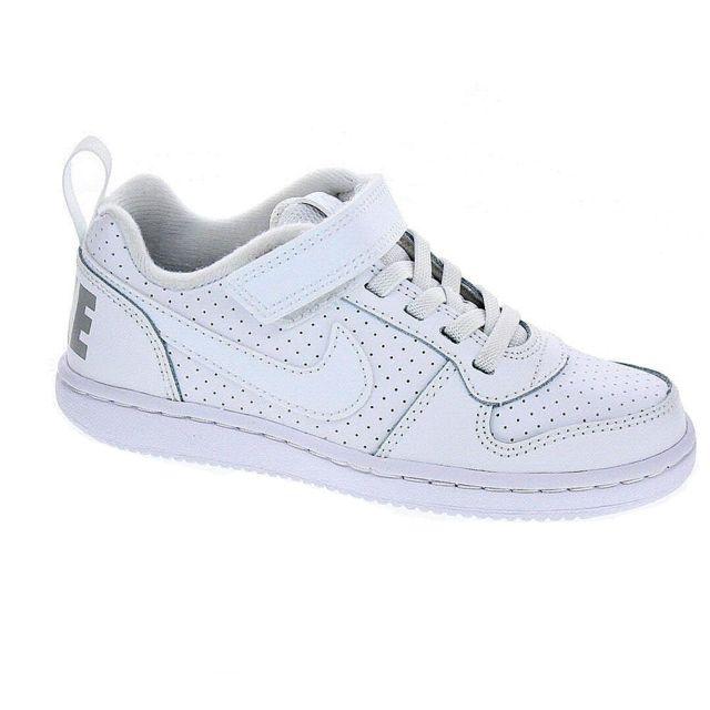 Nike - Chaussures Garçon Baskets modele Court Borough Low - pas cher Achat    Vente Baskets enfant - RueDuCommerce fa72854cecd1