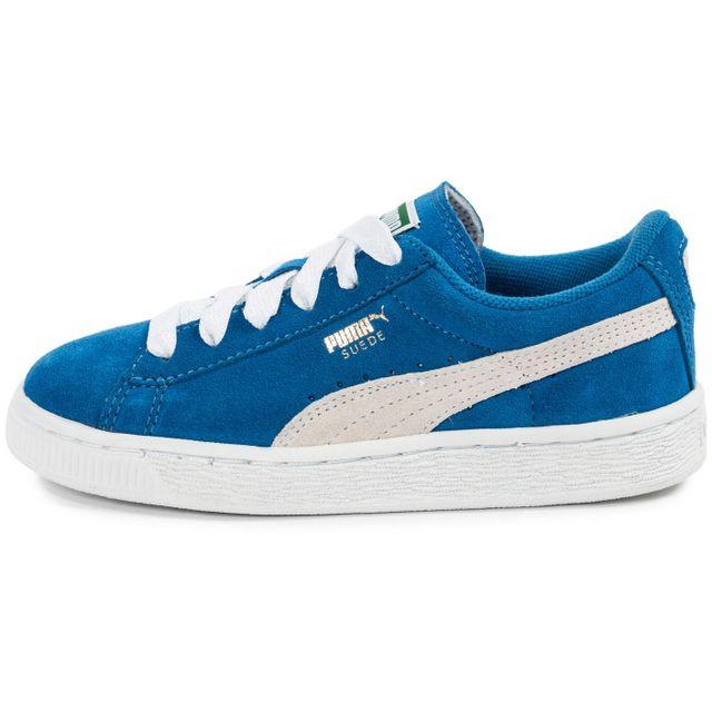 huge discount c53e2 92764 Puma - Suede Enfant Bleue