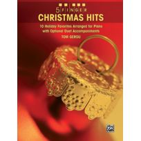 Alfred Publishing - Partitions Variété, Pop, Rock. Gerou Tom - 5 Finger Christmas Hits Piano - Piano Solo Piano