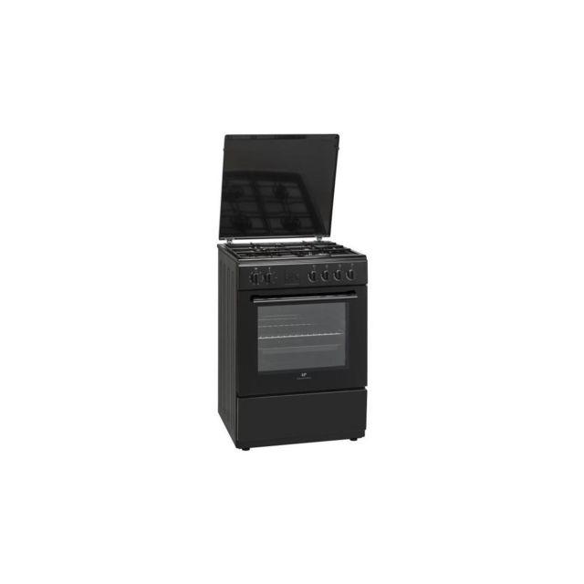 continental edison cecg6060fcb cuisiniere table gaz 4. Black Bedroom Furniture Sets. Home Design Ideas