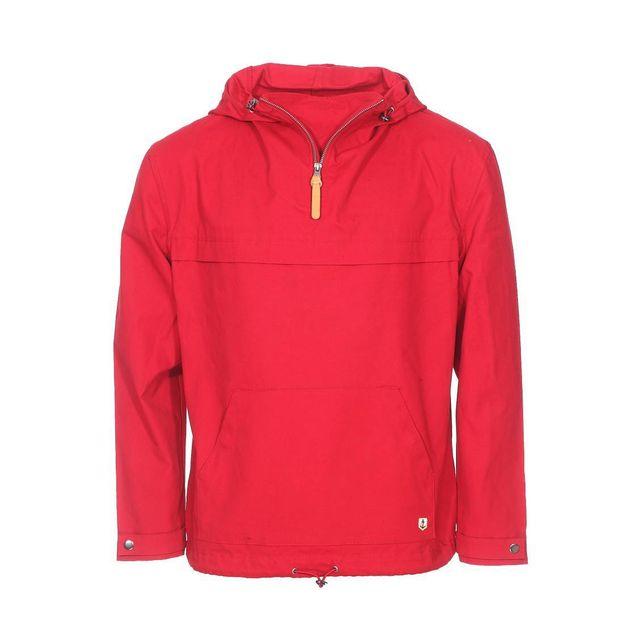 armor lux vareuse d perlante capuche armor lux en coton rouge xl pas cher achat vente. Black Bedroom Furniture Sets. Home Design Ideas