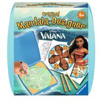 Ravensburger - Mandala-Designer : Vaiana Moana la princesse du bout du monde