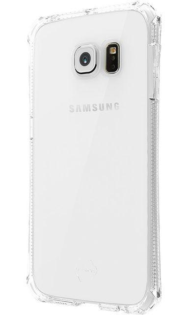 8a08e07df1d16e Itskins - Coque semi-rigide Spectrum transparent pour Samsung Galaxy S6 Edge  G925 - pas cher Achat   Vente Coque, étui smartphone - RueDuCommerce