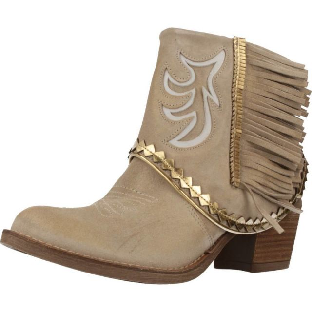 Nemonic Boots, bottines et bottes femme 2108N , Marron