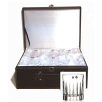 Royal Crystal Rock - Verres à Whisky x 6 Lancelot cristalin en valise