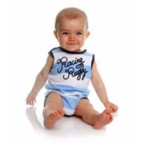 Adnrugby - Body Sans Manche Racing Metro 1882 - taille : 24 Mois