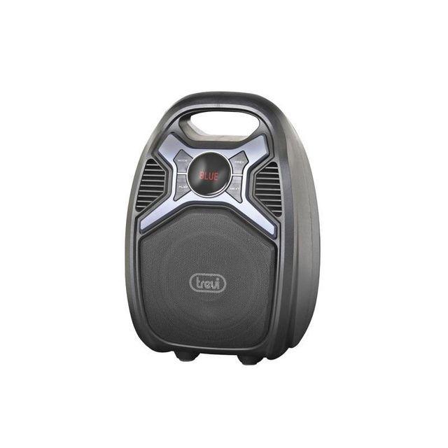 trevi xf 500 enceinte bluetooth active mobile batterie mp3 usb sd aux fm micro pas cher. Black Bedroom Furniture Sets. Home Design Ideas