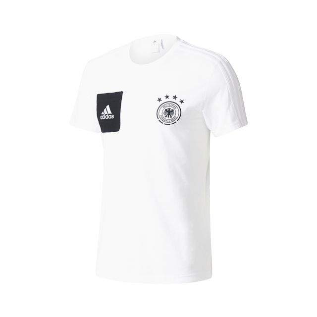 Adidas performance T shirt Allemagne Play Blanc pas cher