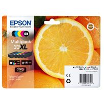 EPSON - Multipack T3357 Orange xl BK/BKPH/ C/M/Y