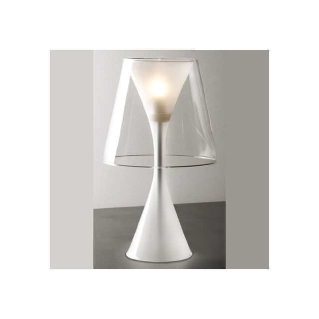 Concept Verre Lampe design Dario Médium Verre