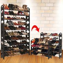 Idmarket - Etagère range chaussures modulable 50 paires