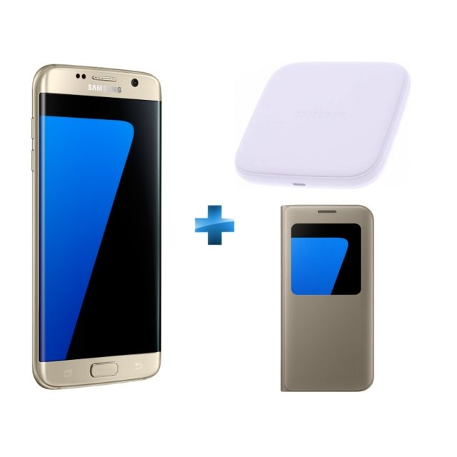 samsung galaxy s7 edge or s view cover chargeur. Black Bedroom Furniture Sets. Home Design Ideas
