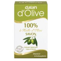 Dalan - Savon solide à 100% huile d'olive - 150 g