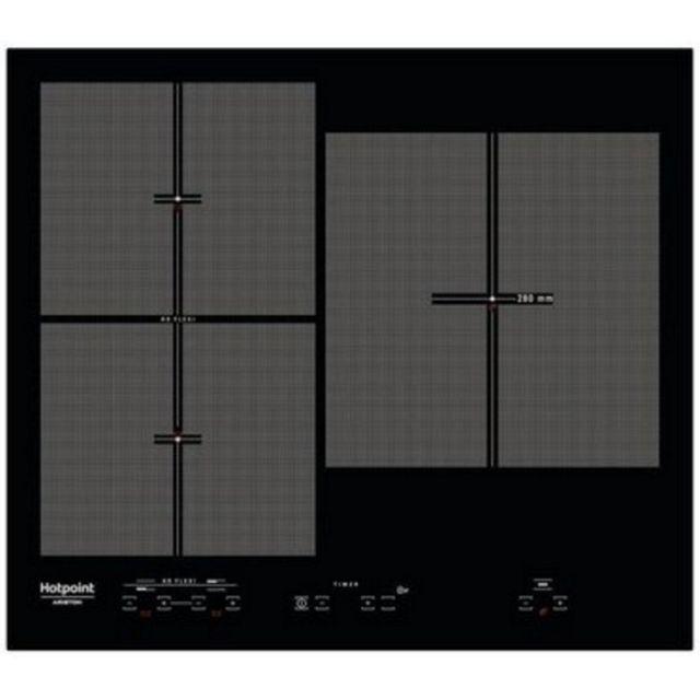 hotpoint table de cuisson induction 58cm 4 feux 7200w. Black Bedroom Furniture Sets. Home Design Ideas